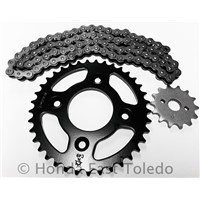 CHAIN AND SPROCKET KIT 00-03 XR50R 04-12 CRF50F CRF XR 50 SPROCKETS
