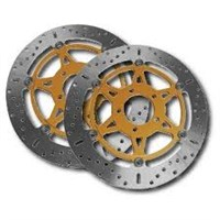 EBC Standard Front Brake Rotors Polaris 05-11 Phoenix 200 06-07 Sawtooth