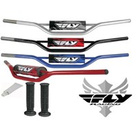 Fly Racing Black Handle Bars GriPs Glue Package KX CRF KX KXF YZ 250 450
