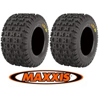 Maxxis Razr MX ATV Quad Rear Tire Set 18x10x8 New