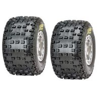 ITP Turf Tamer Classic MX Grooved 18x9.50x8 Tire Set 18x9.50-8 Atv Tires