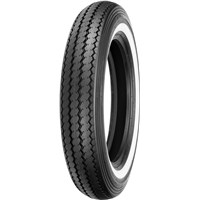 SHINKO E240 FRONT OR REAR TIRE WHITE WALL