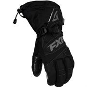 FXR MENS X-LARGE BLACK/CHARCOAL FUEL GLOVE 15606.10016