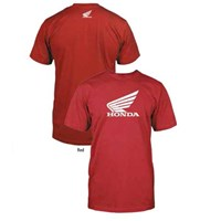 BIG WING SHORT SLEEVE TEE RED