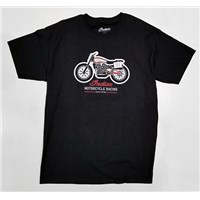 Indian Motorcycle Racing Black Tee