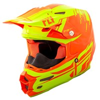F2 Carbon Forge Cold Weather Helmet Hi-Vis/Orange