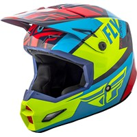 Elite Guild Helmet Red/Blue/Hi-Vis