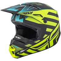 Elite Interlace Cold Weather Helmet Hi-Vis/Black