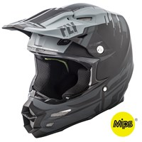 F2 Carbon Forge Helmet Matte Grey/Black