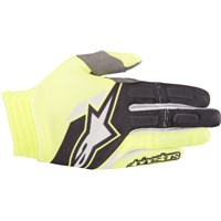Aviator Gloves Yellow/Black