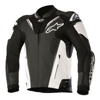 Alpinestars Atem Leather Jacket v3 Black/White