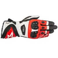 Alpinestars Supertech Gloves Black/White/Red