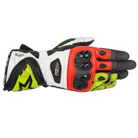 Alpinestars Supertech Gloves Black/Yellow/Red