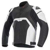 Alpinestars Core Leather Jacket Black/White