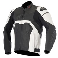 Alpinestars Core Airflow Leather Jacket Black/White