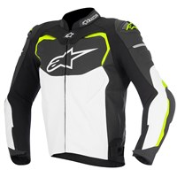 Alpinestars GP Pro Leather Jacket Black/White/Yellow