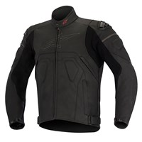 Alpinestars Core Leather Jacket Black