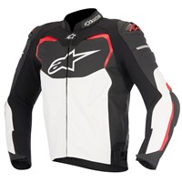 Alpinestars GP Pro Leather Jacket Black/White/Red