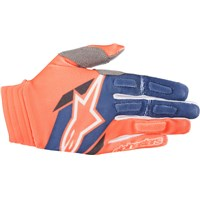 Aviator Gloves Orange/Blue