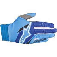 Aviator Gloves Aqua Blue