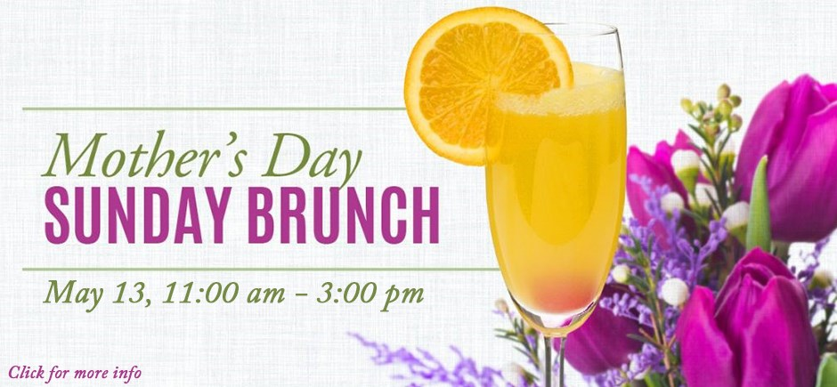 Mother's Day Brunch Buffet 2018