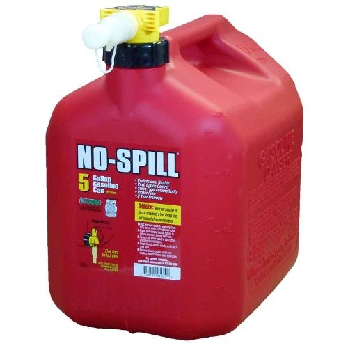 5 Gallon No Spill Red Gas Can