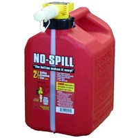 2.5 Gallon No Spill Red Gas Can