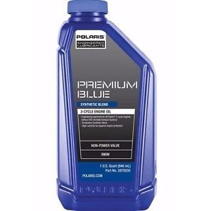 PREMIUM BLUE SYNTHETIC BLEND 2-CYCLE OIL