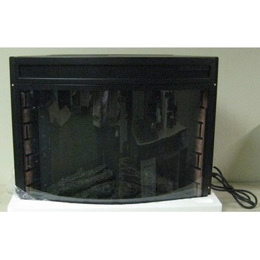 "28"" Electric Fireplace - Curved Glass"