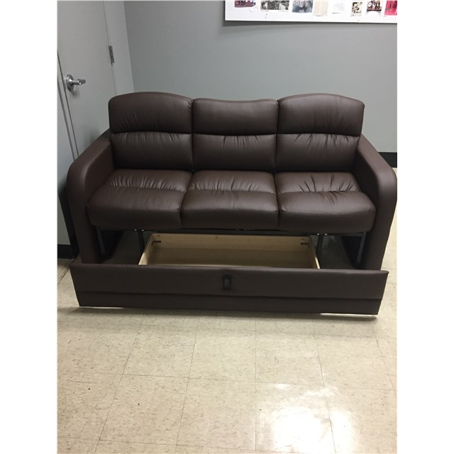 73 Quot Sleeper Sofa With Storage Drawer And Mattress Rv