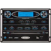 JENSEN AM/FM/CD/DVD/MP3/USB Wallmount Stereo