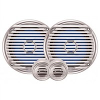 "Jensen 6.5"" Waterproof Component Speaker Set"