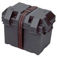A/T Battery Box Grp 27 Black