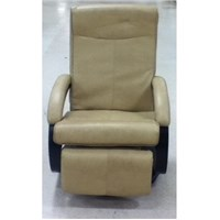 Ultra Leather Swivel Euro Chair with Kickout