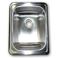 Stainless Steel 17X13 Less Ledge Sink