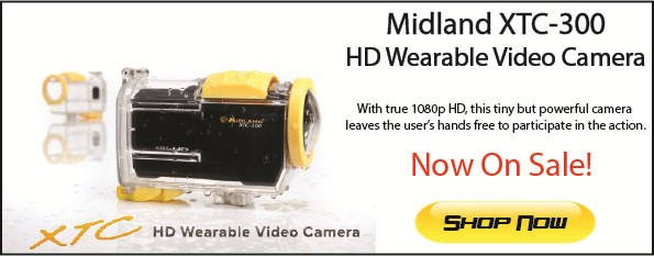 Midland XTC-300 Wearable HD Video Camera