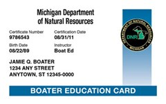 Did you know you can get your Boating license online in Michigan now!