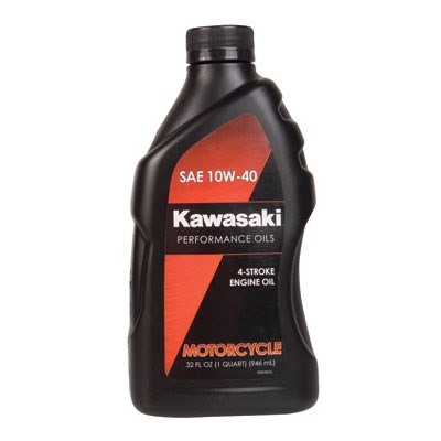 Kawasaki 4-Stroke Engine Oil 10W-40 32 oz.