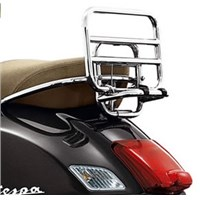 OEM Vespa Folding Chrome Rear Rack -1B000789
