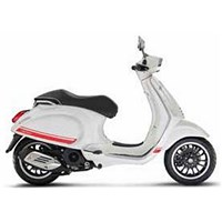 OEM Vespa Racing Stripes Kit, Red - 605944M00R