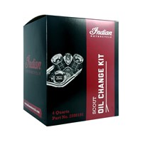 15W-60 SYNTHETIC OIL CHANGE KIT - BY INDIAN MOTORCYCLE
