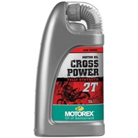 Motorex Cross Power Full Synthetic 2-Stroke Oil