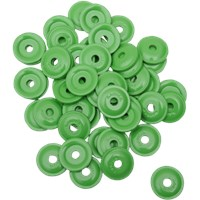 "WOODY'S Green Round DIGGER® Aluminum Support Plates (For 5/16"" Studs)"