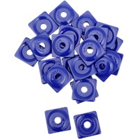 "WOODY's Blue Square DIGGER® Aluminum Support Plates (For 5/16"" Studs)"
