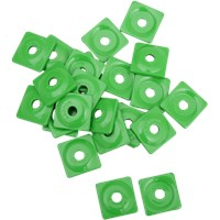 "WOODY's Green Square DIGGER® Aluminum Support Plates (For 5/16"" Studs)"
