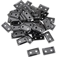 "WOODY'S Black DOUBLE DIGGER® Aluminum Support Plates (For 5/16"" Studs)"