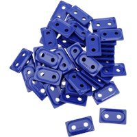 "WOODY'S Blue DOUBLE DIGGER® Aluminum Support Plates (For 5/16"" Studs)"