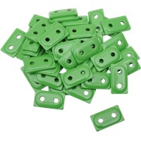 "WOODY'S Green DOUBLE DIGGER® Aluminum Support Plates (For 5/16"" Studs)"