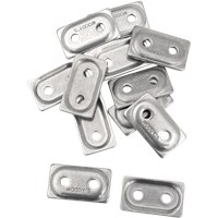 "WOODY'S Natural DOUBLE DIGGER® Aluminum Support Plates (For 5/16"" Studs)"