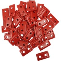 "WOODY'S Red DOUBLE DIGGER® Aluminum Support Plates (For 5/16"" Studs)"
